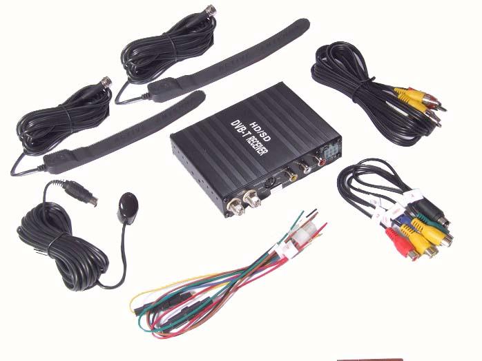 DVB-T digitální tuner + 2 vnitřní prutové antény