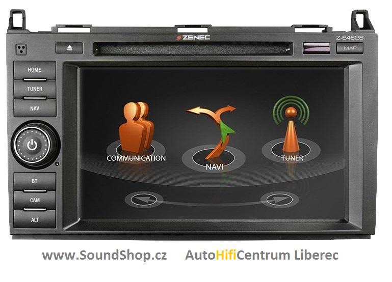 ZENEC Z-E4626 pro Mercedes Sprinter,Vito,Viano,VW Crafter