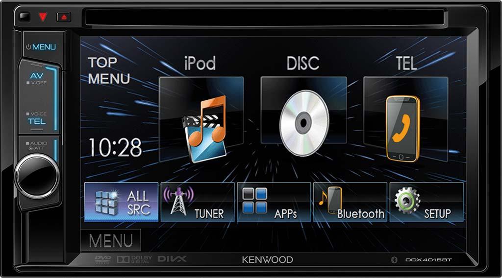 KENWOOD DDX-4015BT autorádio s DVD,handsfree