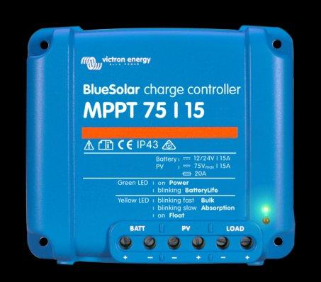 MPPT solární regulátor Victron Energy 75/15