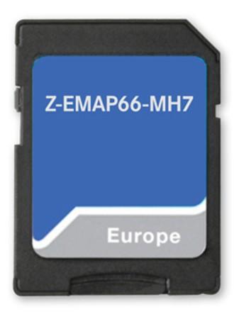 Navigační karta pro Zenec Z-E3766 MH7