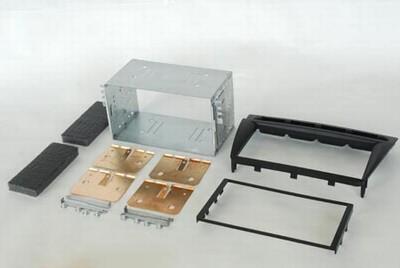 2DIN redukce pro Kia Picanto -08 antracit