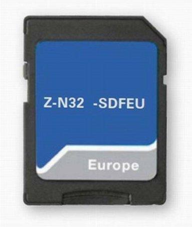 Navigační karta Z-N328-SDFEU pro Zenec Z-N328