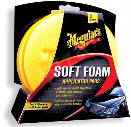 MEGUIAR'S Soft Foam Applicator Pads doprodej