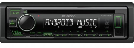 Autorádio s USB a CD Kenwood KDC-130UG