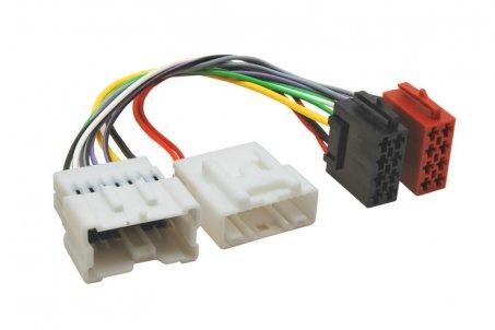 ISO adaptér pro autorádia Dacia / Renault / Mercedes