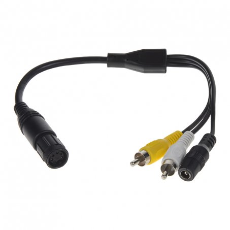 Kabel video 6pin WAECO samice/RCA samec