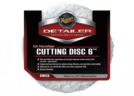 Meguiar's DA Microfiber Cutting Disc 6-palcový, 2 kusy