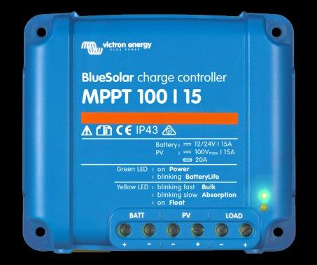MPPT solární regulátor Victron Energy 100/15