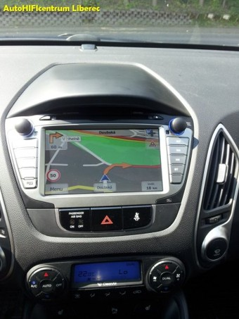 HYUNDAI ix35 autorádio s navigací