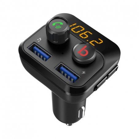Bluetooth/MP3/FM modulátor bezdrátový s USB/SD