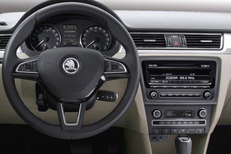 Instalační sada 2DIN Škoda Rapid (14->)