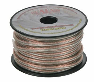 Kabel 2x1,5 mm, transparentní