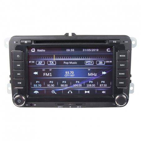 """Autorádio s navigací 7""""LCD pro VW / Škoda"""
