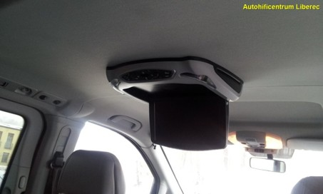 MERCEDES VIANO - stropní monitor s DVD