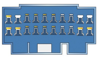 Konektor ISO Honda 98>, Accord, Suzuki Liana 02-, Splash, Opel Agila 08-, Fiat Sedici