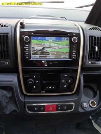 FIAT DUCATO III. OBYTNÝ AUTOMOBIL - navigace Zenec