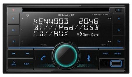 Autorádio s bluetooth Kenwood DPX-5200BT