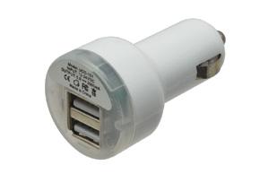 CL nabíječka 2x USB 2,1A+1A