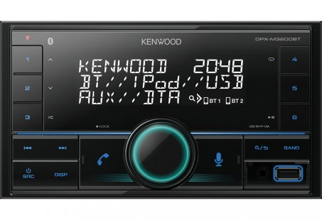 Autorádio bez mechaniky Kenwood DPX-M3200BT