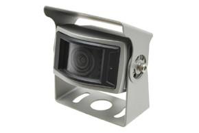Couvací kamera širokopohledová - stříbrná
