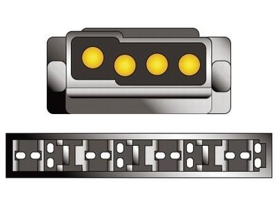 Konektor ISO Mercedes W 190