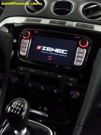 FORD S-MAX 2013 - rádio s navigací, DVD,digi TV