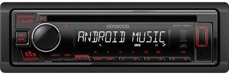 Autorádio s USB a CD Kenwood KDC-130UR