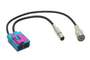 Anténní adaptér FAKRA - ISO / SMB