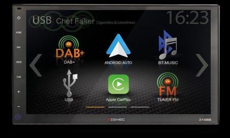 """Autorádio Zenec Z-N966 s 9"""" LCD"""