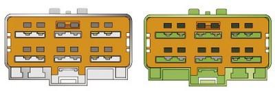 Konektor ISO VOLVO S40,V40 10/00>,S80