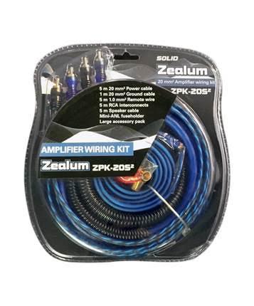 Zealum ZPK-20s2 kabelový set