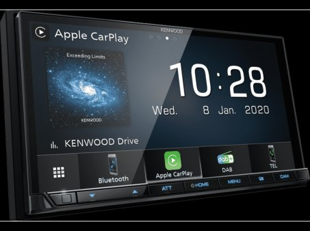 Autorádio Kenwood DMX-7520DABS s CarPlay a Android Auto