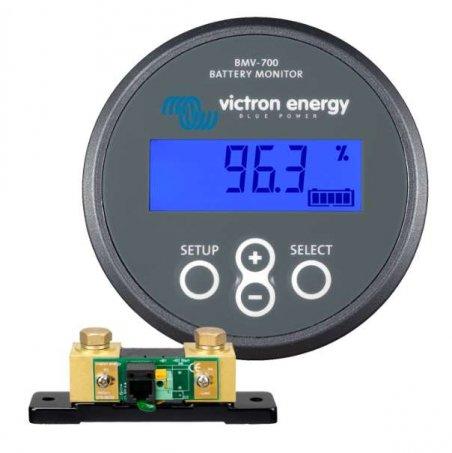 Displej pro MPPT / sledovač stavu baterie BMV700