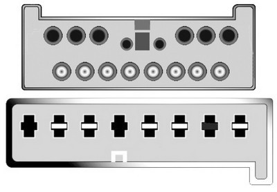 Konektor ISO VW Sharan, Ford Galaxy