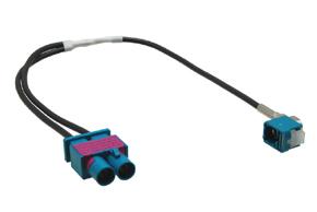 Anténní adaptér dvojitá FAKRA -FAKRA
