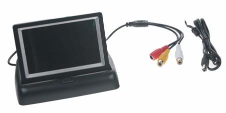 """Výklopný monitor 4,3"""" černý na palubní desku"""