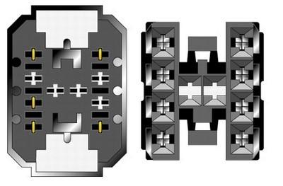 Konektor ISO Saab 900-9000 doprodej