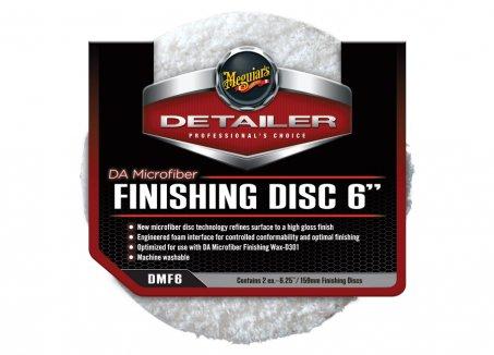 Meguiar's DA Microfiber Finishing Disc 6-palcový, 2 kusy