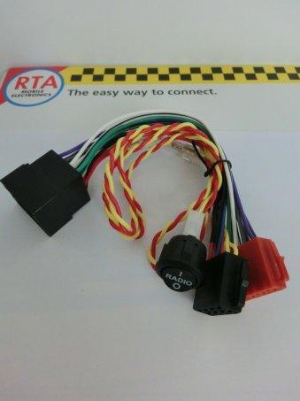 kabeláž ISO / ISO s vypínačem / WOMO