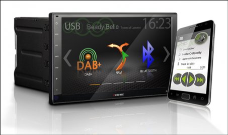 """Autorádio Zenec Z-N956 – 9"""" / 22,9 cm Infotainer s HD Displejem"""