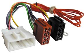 ISO adaptér autorádia Nissan (07->)