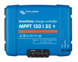 MPPT SMART solární regulátor Victron Energy 150/35