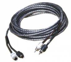 Zealum ZC-TS500 500 cm 2-kanálový stíněný kabel RCA