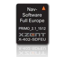Navigační karta pro Xzent X-402