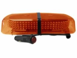 LED světelná rampa, oranžová, magnet