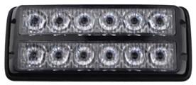 PREDATOR dual 12x1W LED, 12-24V, modrý