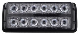 PREDATOR dual 12x1W LED, 12-24V, oranžový