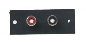 2 RCA samice terminal 20 x 52 mm