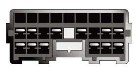 Konektor ISO Mitsubishi 97>,Carisma